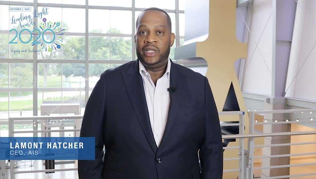 CEO of AIS Lamont Hatcher